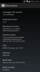 OPO, Oneplus One, CM 11S 05Q, OTA, Update , Manually, India, No Root